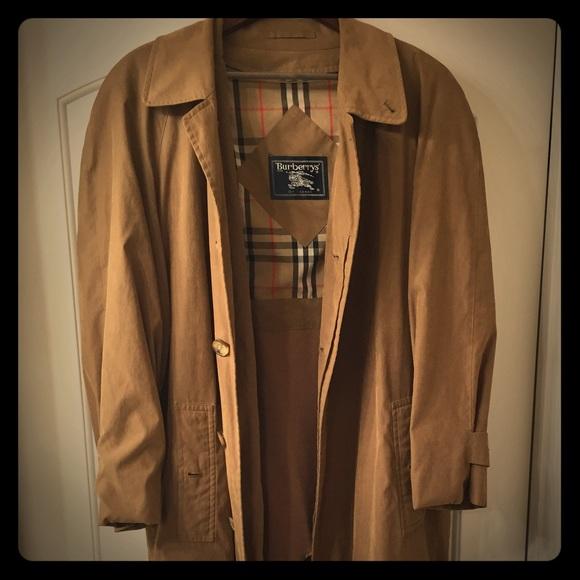 Burberry - Authentic Nova Check Top Coat Overcoat